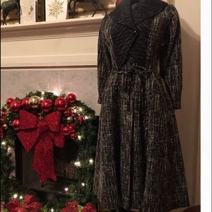 Lilli Ann Jackets & Coats - Full Length Tweed Coat by Lilli Ann